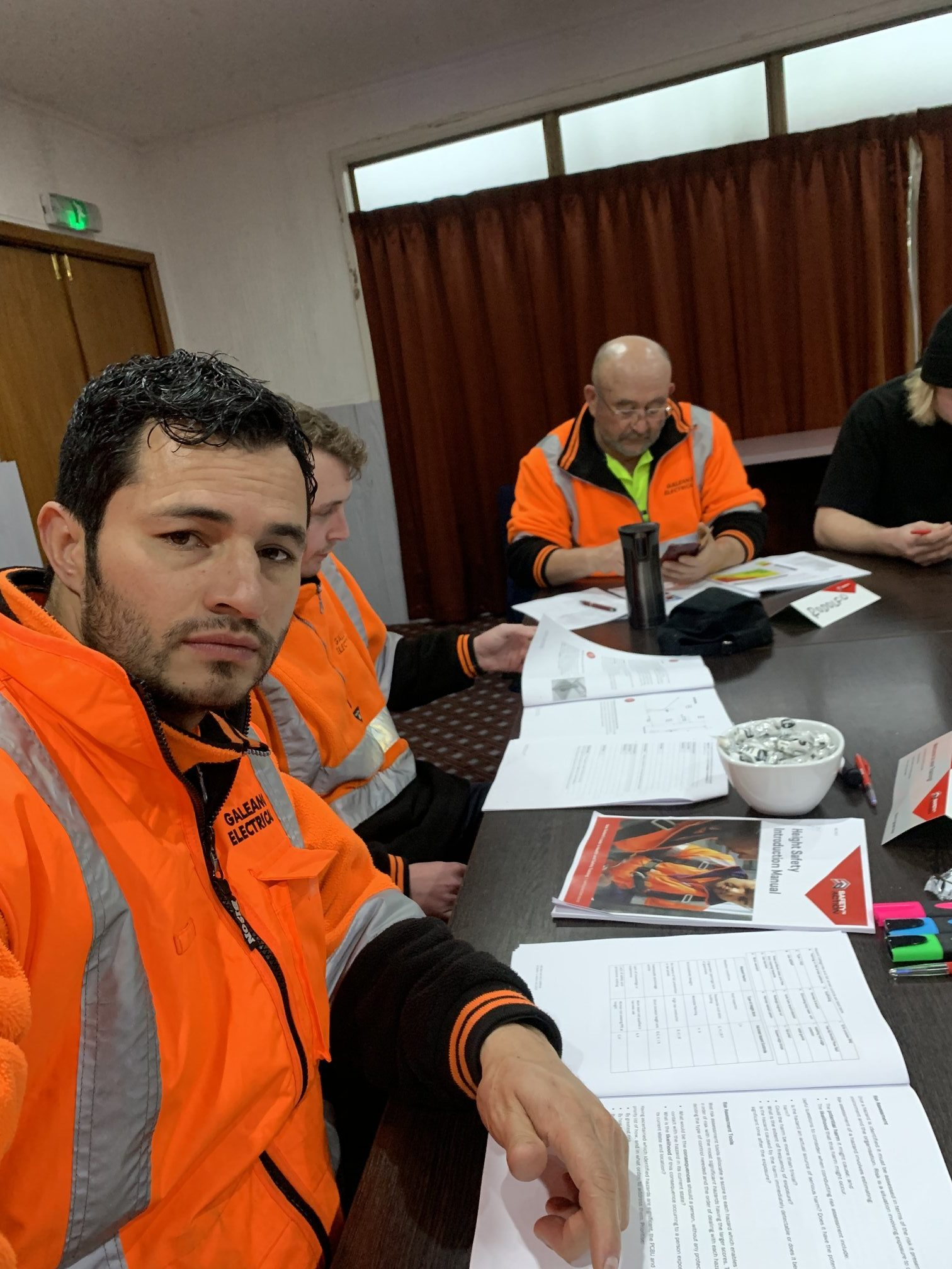 Team At Galeano Electrical